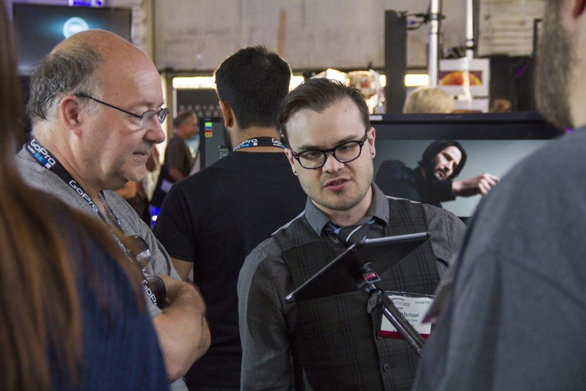 michael-cioni_demoing-live-play-3_cine-gear-expo-2014